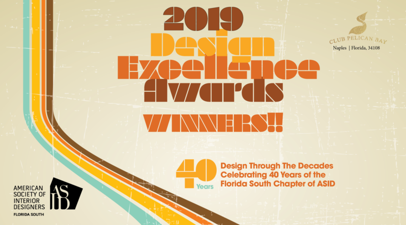 2019 Design Excellence Awards Gala - Winners