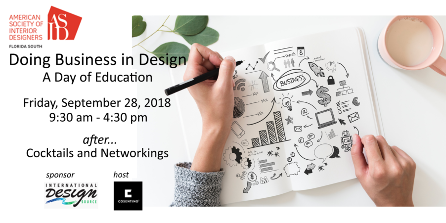 Doing Business in Design - A Day of Education