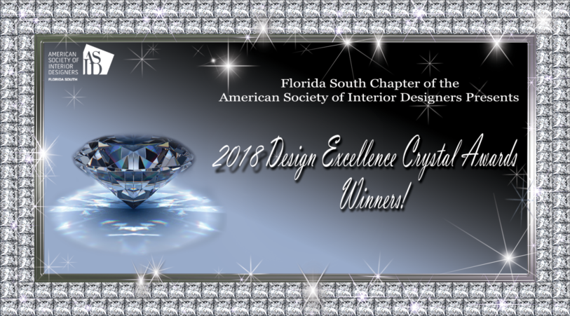 2018 Design Excellence Crystal Awards